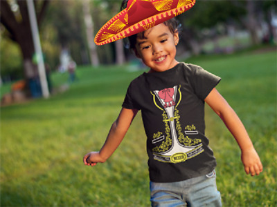 mexican mariachi charro halloween costume toddler kids boy girl t shirt mexico