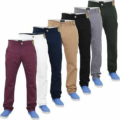 Mens Designer Jacksouth Regular Fit Trousers Stretch Cotton Rich Twill Chinos