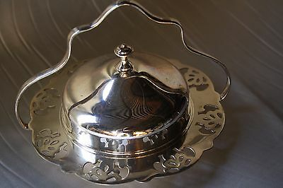 Vintage 1950s Butter Dish Silver Plated  Made By Renown Melbourne