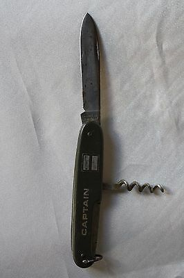 Antique 1930s Knife Made in Germany with Corkscrew Captain