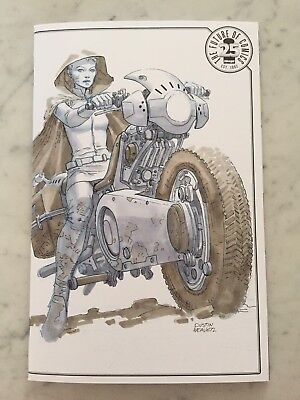 Image blind box Dustin Weaver Original Sketch Paklis #1 Cover. Amazing!