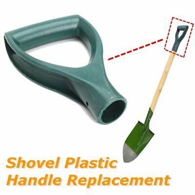 Plastic Scoop Poly D Grip Handle Lawn Farm Snow Removal Spade Fork Shovel Green
