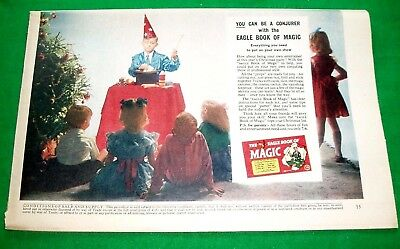 The Eagle Book Of Magic   Full Colour Advert  From  1955