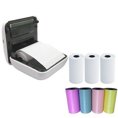 UK 57x30mm Colors Thermal Paper Picture Photo Credit Card Machine Till Rolls