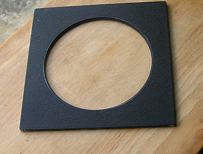 genuine Sinar F & P  lens board panel with large 102.5mm hole