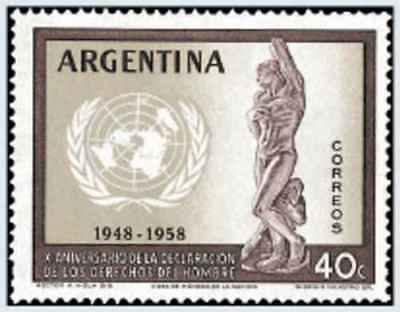 Timbre Argentine 595 ** lot 22462