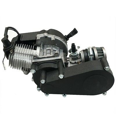 49CC 2 STROKE ENGINE MOTOR FOR ATV QUAD Dirt Pocket Buggy mini kids Bike AU