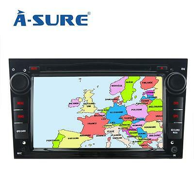 Vauxhall Corsa Astra 3G DVD Player GPS Navigation for OPEL Zafira Vectra DAB+BT