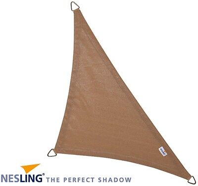 Voile d'ombrage triangulaire Coolfit sable