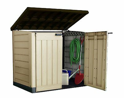Keter Store It Out Max Outdoor Plastic Garden Storage Shed, 145.5 x 82 x 125 cm