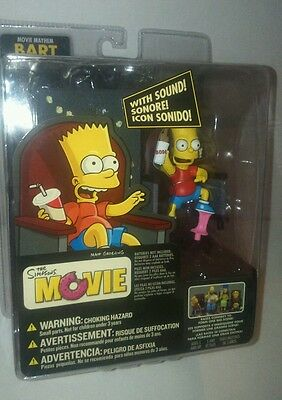 The Simpsons Movie Bart Action Figure With Sound NIB