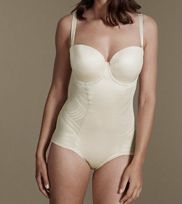Ex M&S Ladies Nude Body Firm Control Magicwear™ Padded Wired 34-40 B-F s40