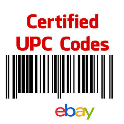 500 UPC Numbers GS1 Barcodes eBay Amazon