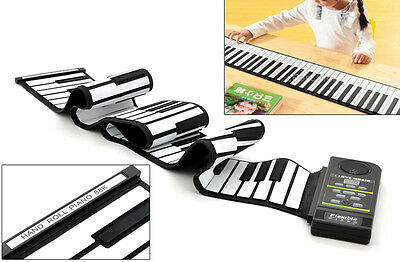 Flexible Roll Up Synthesizer-Keyboard Piano