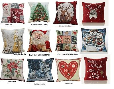 Luxury Christmas & Festive Cushion Covers In A Selection Of Festive Designs