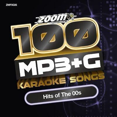 Zoom Karaoke MP3+G Disc 100 Songs Hits of The 00s CD+G New Sealed