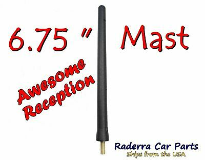 German Engineered - Car Wash Proof Short Rubber Antenna The Original 6 3//4 Inch is Compatible with BMW M235I Convertible Internal Copper Coil AntennaMastsRus 2014-2017 Premium Reception