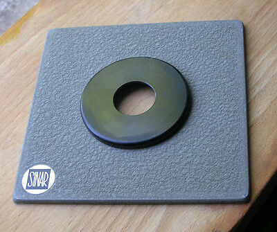 genuine Sinar Norma & F  P fit  lens board panel compur 00 26.5mm hole  5mm step