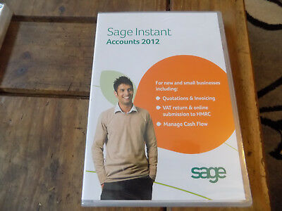 Sage Instant Accounts 2012 - For New & Small Business **New & Sealed**