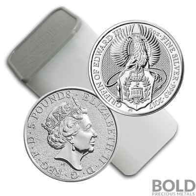 2017 Silver Great Britain Queen's Beasts (The Griffin) - 2 oz (10 Coins)
