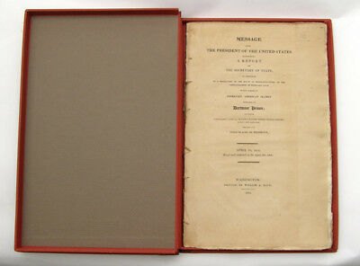 War of 1812, Original Dartmoor Prison report by James Monroe, President.