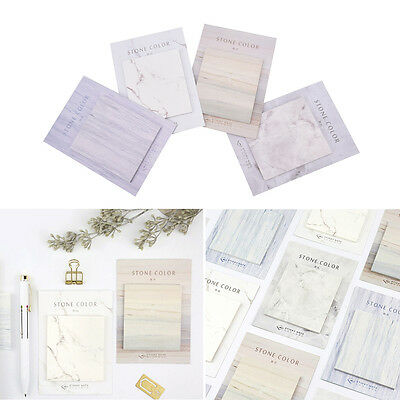 Self-Adhesive Memo Pad Index Flag Sticky Notes Bookmark School Office Supply HC