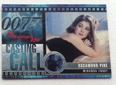James Bond Die Another Day Casting Call Chase Card C4 Rosamund Pike