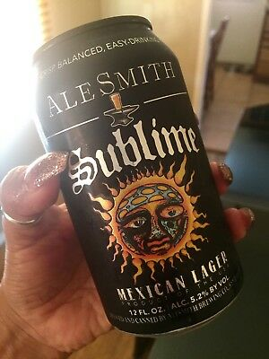 """SUBLIME EMPTY BEER CAN """"RARE"""" 40oz to Freedom"""