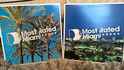 Most Rated - Miami - Defected Un-mixed Compilation Vinyl LP Double Pack