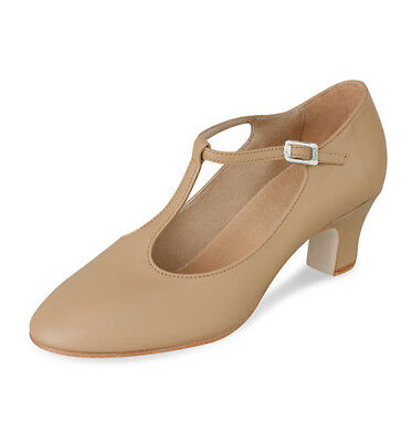 BLOCH S0383L Chord T-Strap Character Shoe