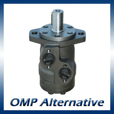 M+S MP Hydraulic Motor 32 to 400cc, 25mm Shaft (Danfoss OMP / Adan VMP)
