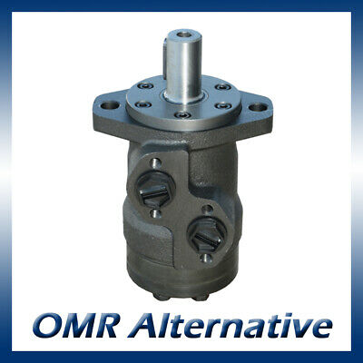 M+S MR Hydraulic Motor 50 to 400cc, 25mm Shaft (Danfoss OMR / Adan WMP)