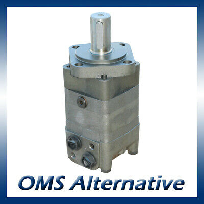 M+S MS Hydraulic Motor 80 to 400cc, 32mm Shaft (Danfoss OMS / Adan MS)