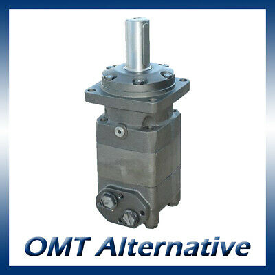 M+S MT Hydraulic Motor 160 to 500cc, 40mm Shaft (Danfoss OMT / Adan MT)