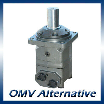 M+S MV Hydraulic Motor 315 to 800cc, 40mm Shaft (Danfoss OMV / Adan MV)