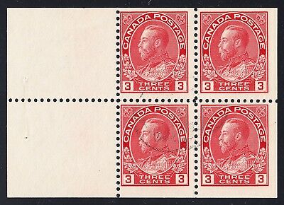 CANADA #109a USED BOOKLET PANE