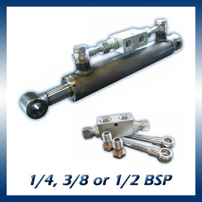 Hydraulic Cylinder Double Pilot Operated (PO) Check Valve Kit, 1/4, 3/8 or 1/2