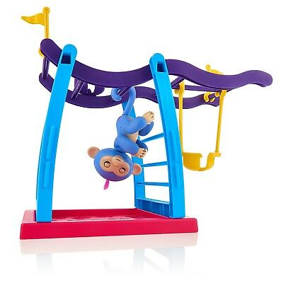 Fingerlings Playset Monkey Bar Swing Playground With 1