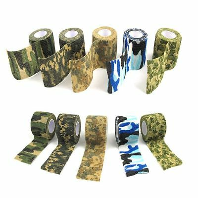 Waterproof Wrap Durable Camouflage Stealth Tape Self Adhesive Non Woven