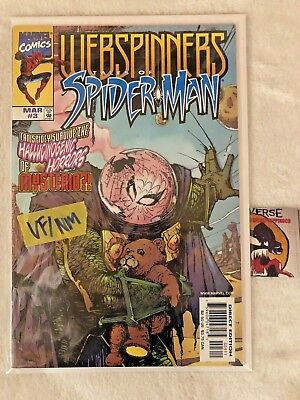 WEBSPINNERS Tales of Spider-Man #3 VF/NM Mysterio APP