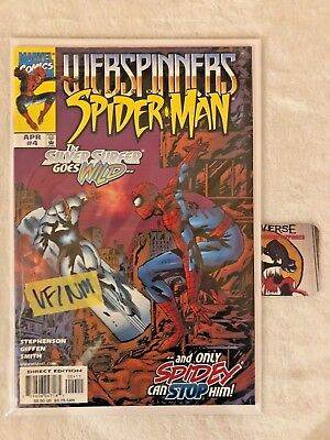 WEBSPINNERS Tales of Spider-Man #4 Marvel Comics SILVER SURFER APP VF/NM