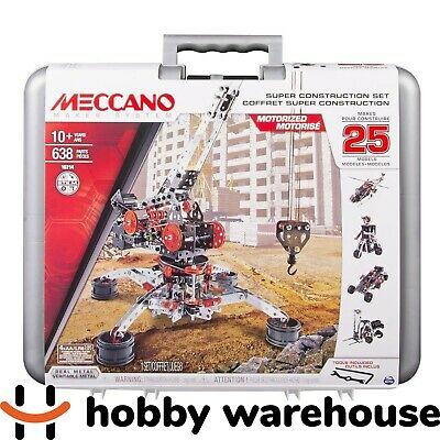 Meccano 16214 Multimodel Super Construction Set (NEW 2017 Version!)