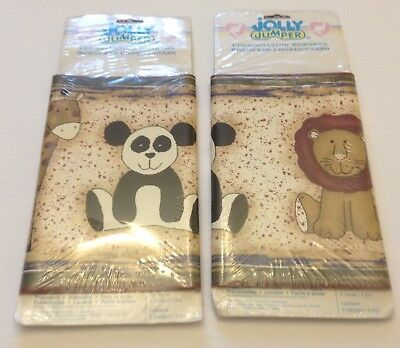 Zoo Animals 2 Wallpaper Borders Giraffe Panda Lion Zebra Prepasted Jolly Jumper