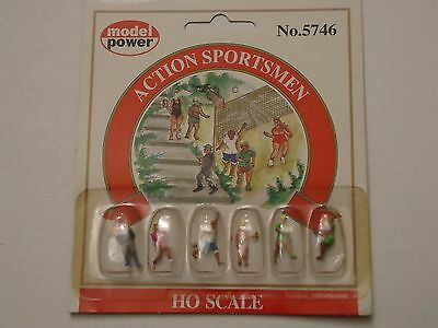 Model Power Action sportsmen  figures MP5746 HO Scale 1:87