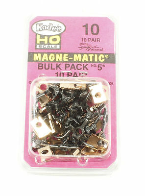 KADEE #10 Bulk Pack #5's , #242 ,  #3 assembled,Screws, 2-56 x 1/4 inch