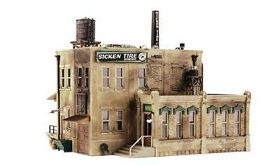 Woodland Scenics PF5184 Kit- Sicken Tire Company Building kit