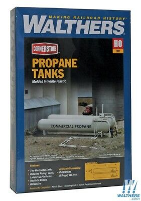 Walthers #933-3129  Propane Tanks HO SCALE - Building kit FREE POST