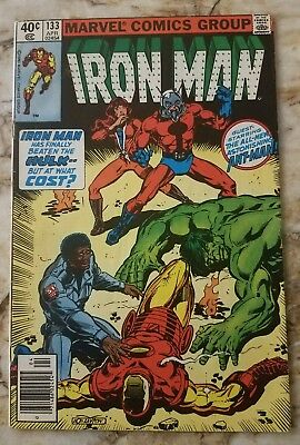 Iron Man #133 Fn Ant-Man 1 Hulk 1 Key Marvel Comic