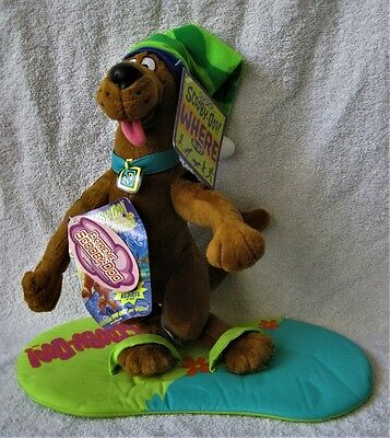 Rand New With Tags - Extreme Scooby-Doo - Surfing Scooby With Surfboard - Gift!!