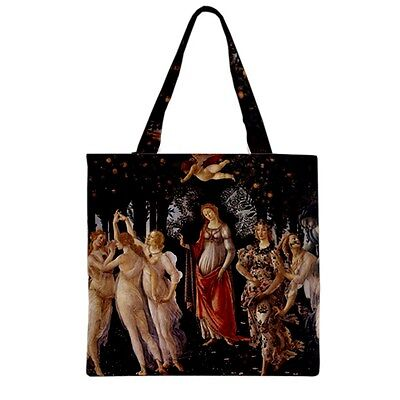 Primavera Allegory of Spring Botticelli Art Canvas Shopping Book Tote Bag